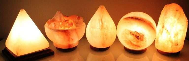 Lámparas de Sal 6 propiedades