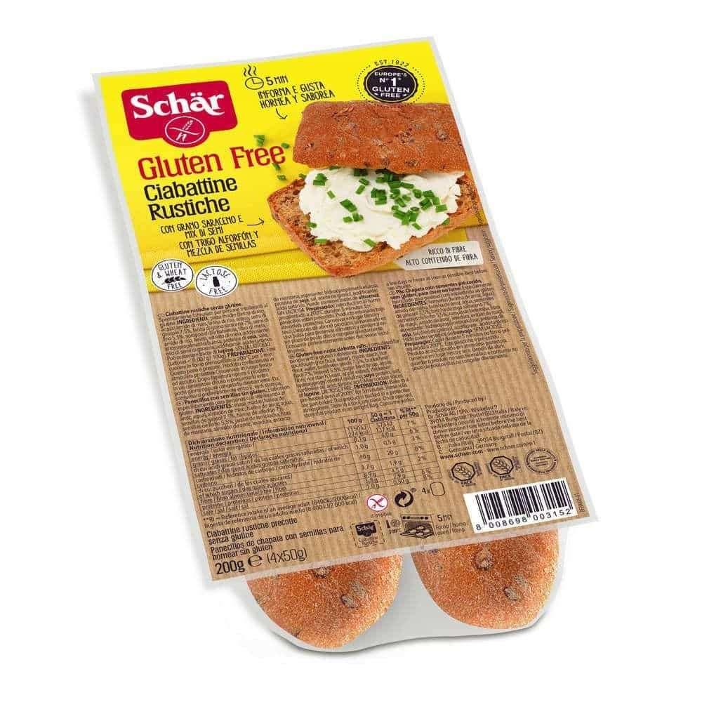 Chapata Sin Gluten Schär 200gr