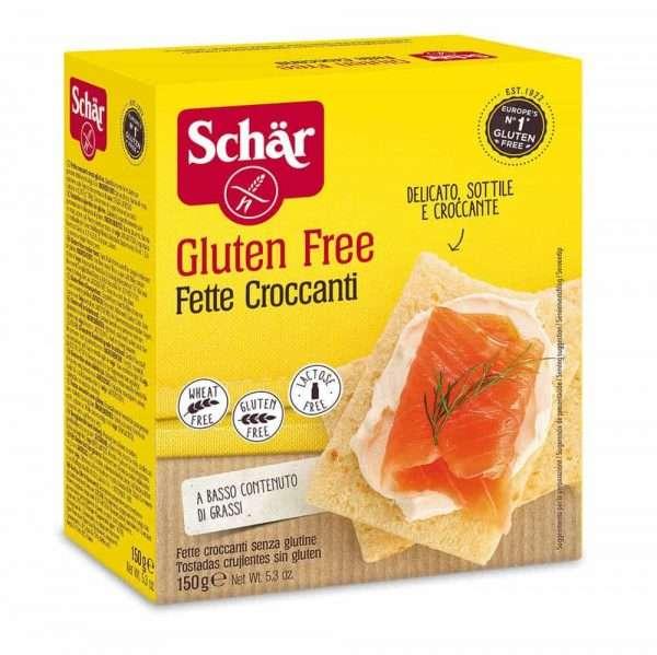 Fette Croccanti Sin Gluten Schär 150 gr
