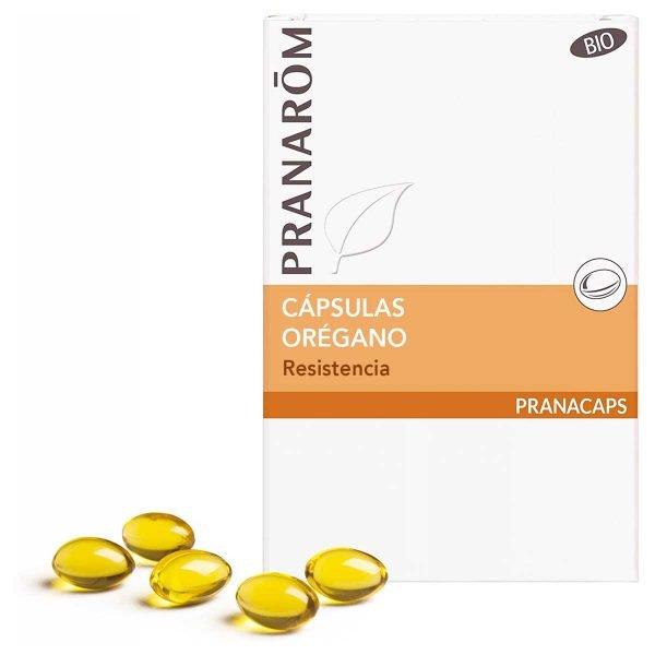 Orégano bio Pranarôm 30 cápsulas