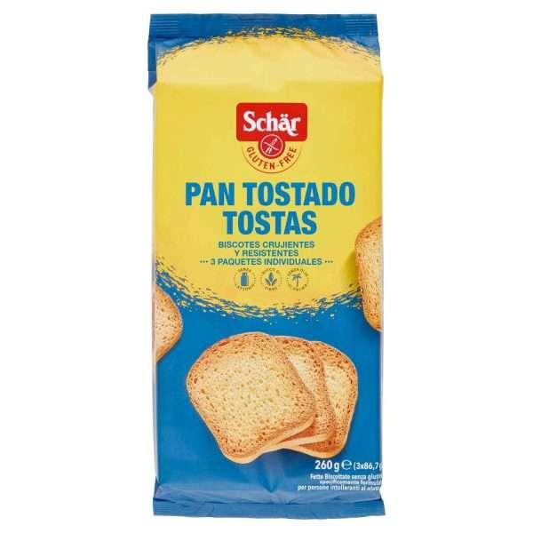 Pan Tostado Sin Gluten Tostas Schär 260g