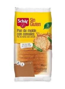 Pan de Molde Cereales Sin Gluten Schar 300 gr