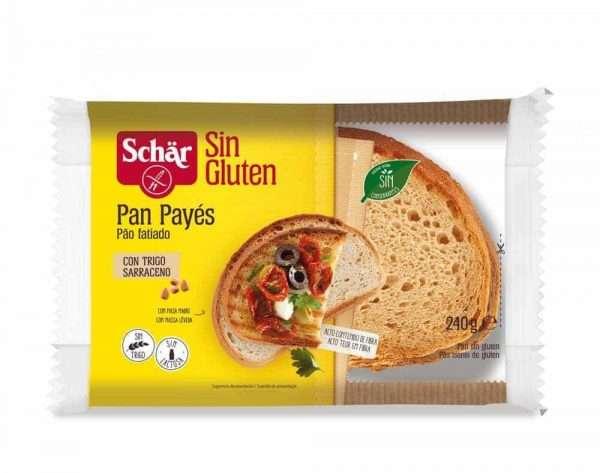 Pan de Payés Sin Gluten Schär 240 gr