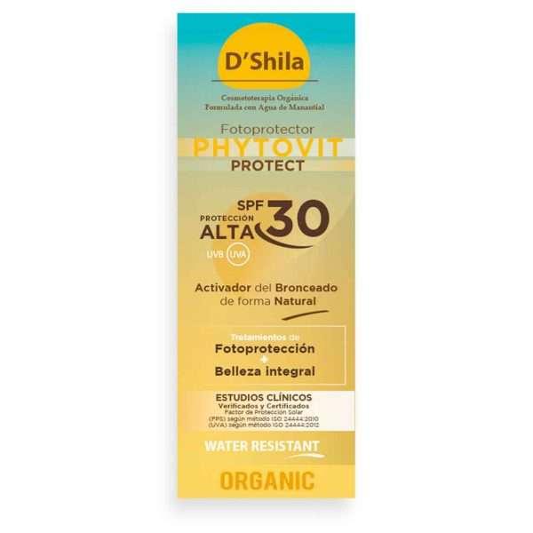 Protector Solar Phytovit SPF 30 D´Shila 100 ml
