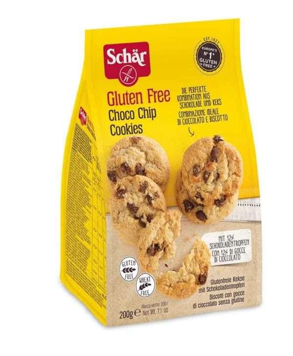 Choco Chips Cookies Sin Gluten Schär 200 gr