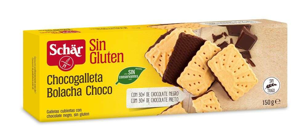 Galletas de chocolate Sin Gluten Schär 150 gr