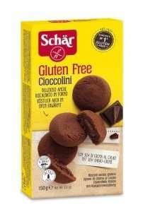 Galletas Rellenas Cacao Sin Gluten Schär 150 gr