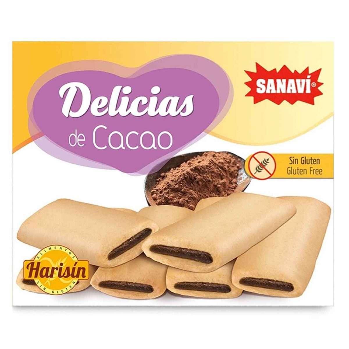 Delicias de Cacao Sin Gluten Sanavi 150g