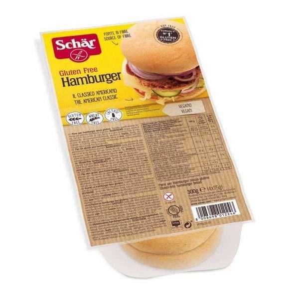 Hamburger sin gluten