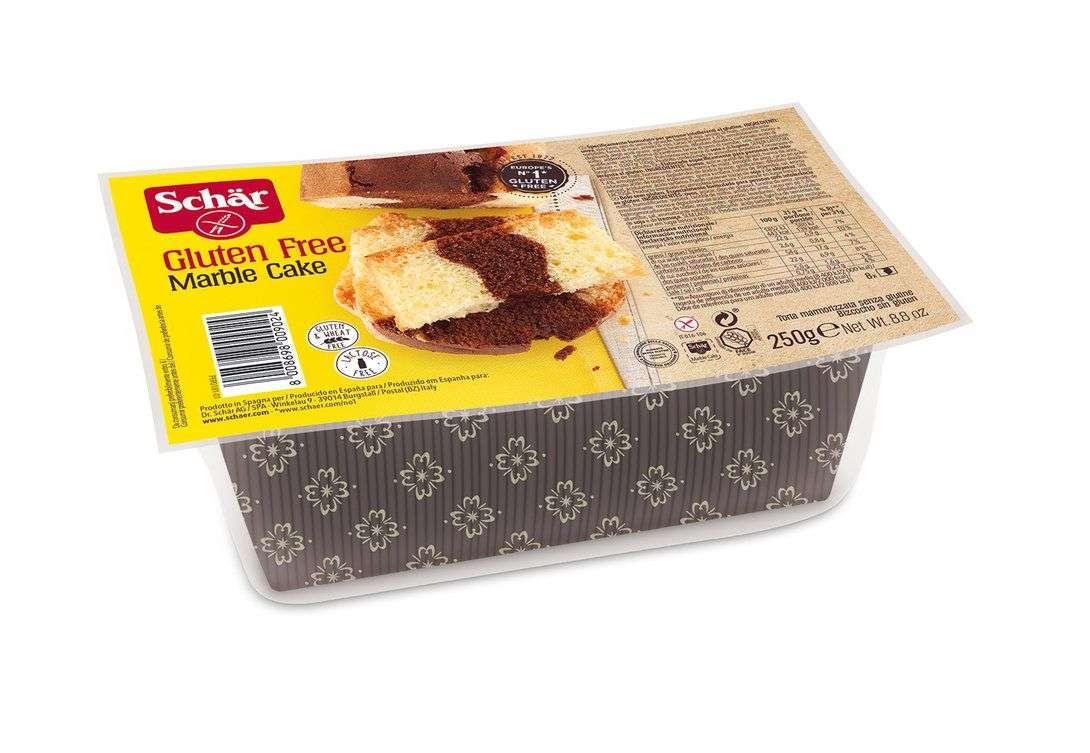 Bizcocho cacao vainilla Sin Gluten Schär 250 gr