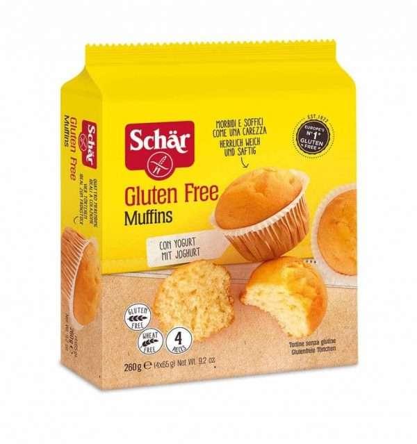 Muffins Sin Gluten Schär 260 gr