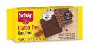 Quadritos Sin Gluten Schär 40 gr