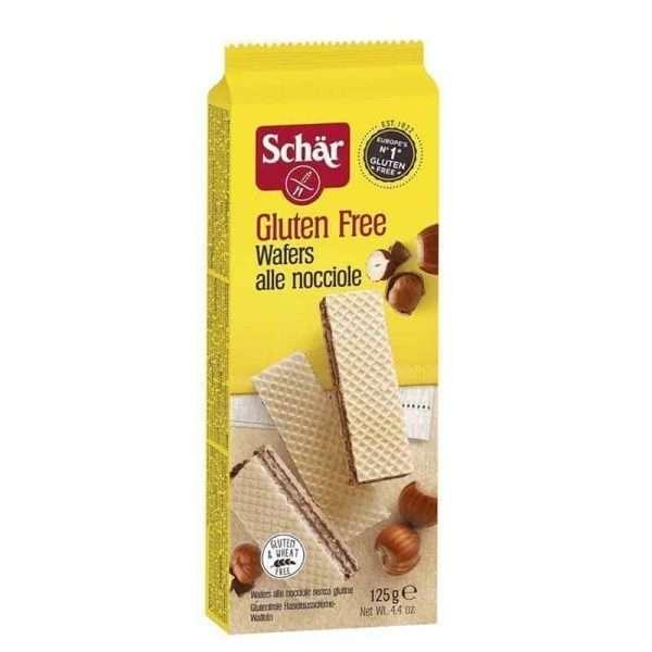 Wafers Avellana Sin Gluten Schär 125 gr