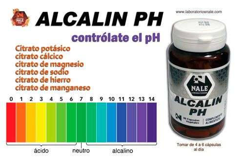 Alcalin PH