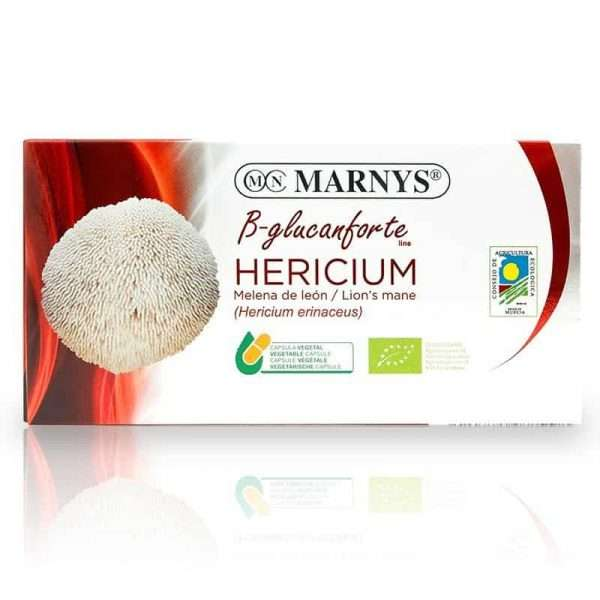 Hericium Melena de León Bio Marnys 30 caps