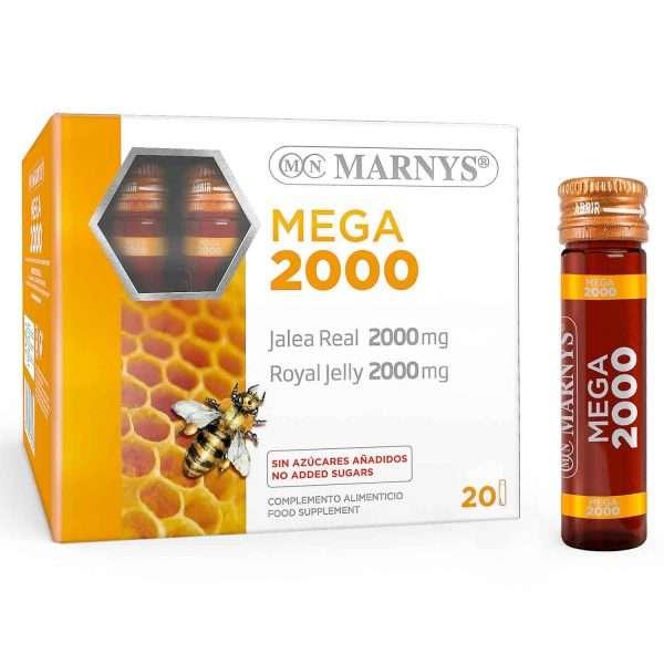 Jalea Real Mega 2000 Marnys 20 viales