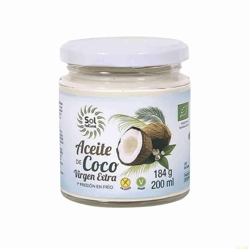 Aceite de coco virgen extra Bio
