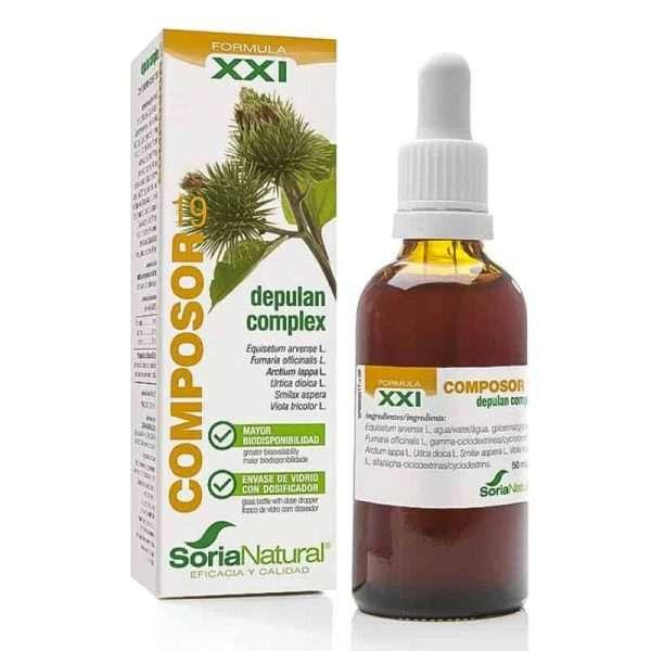 Composor 19 Depulan Complex Soria Natural 50 ml