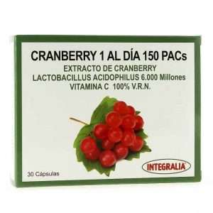 Cranberry 1 Al Dia 150 Pacs Integralia