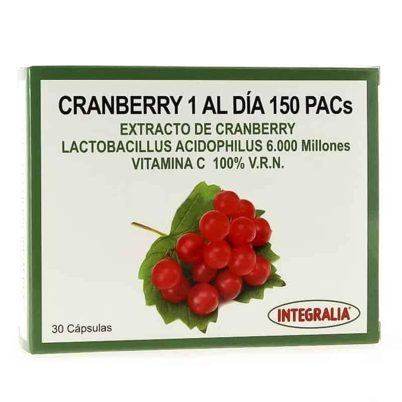Cranberry 1 Al Dia 150 Pacs Integralia