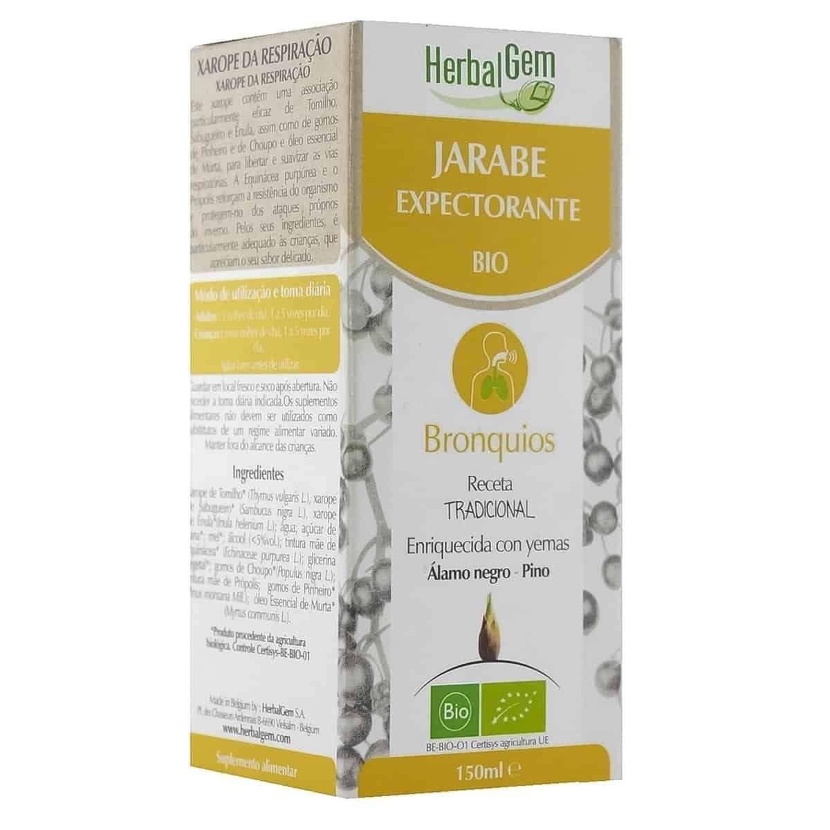 Jarabe Expectorante Natural Herbalgem 150 ml