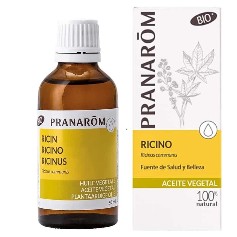 Aceite de Ricino Vegetal Bio 50 ml Pranarôm2