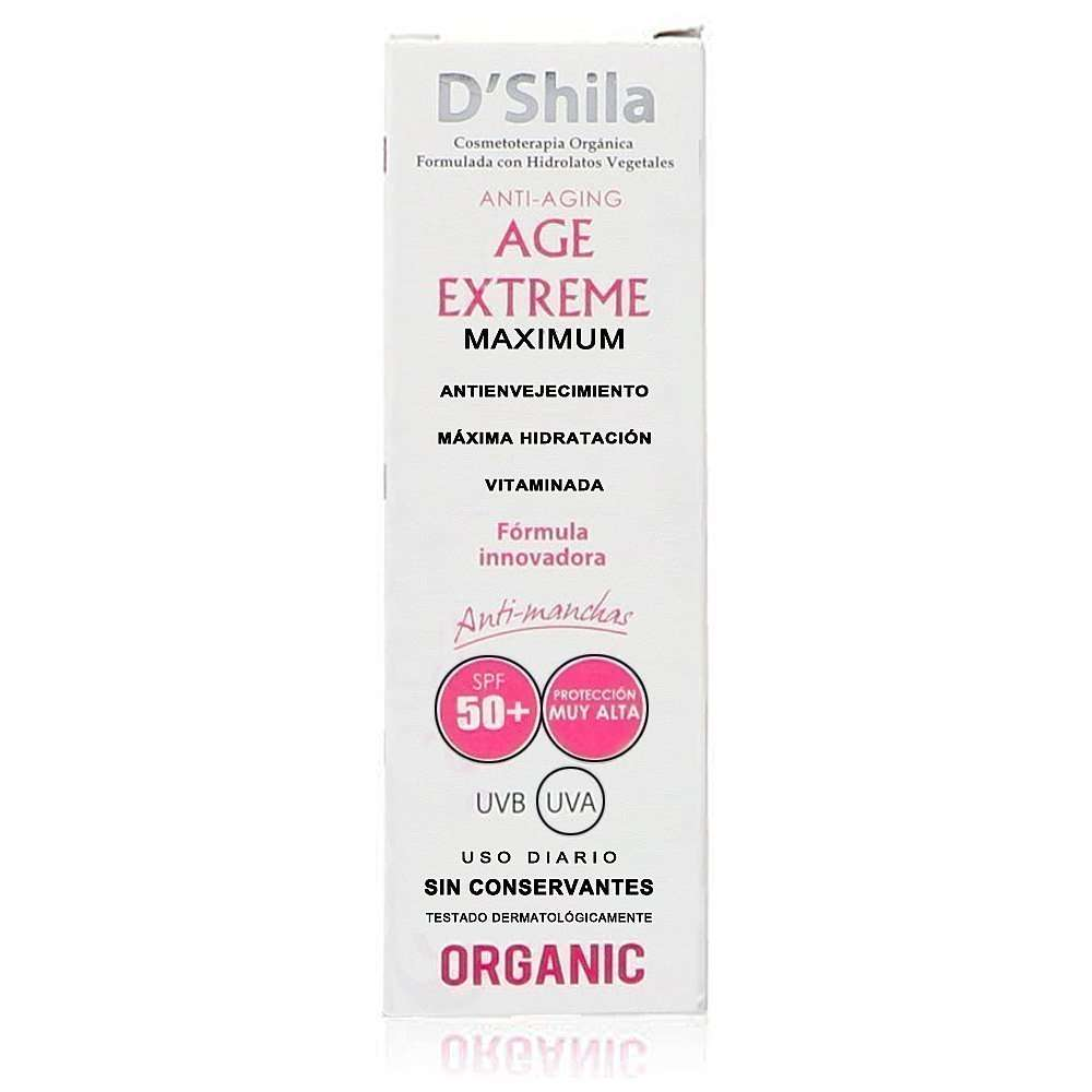 Age Extreme Maximum SPF50+ 50ml D´Shila