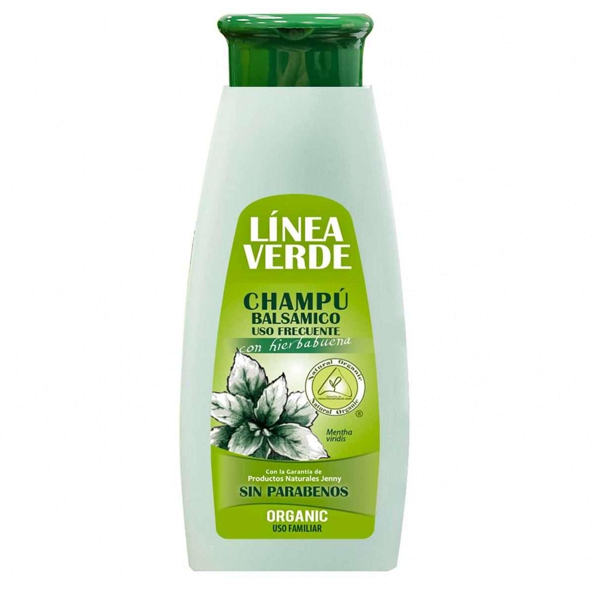 Champú Balsamico Hierbabuena Linea Verde