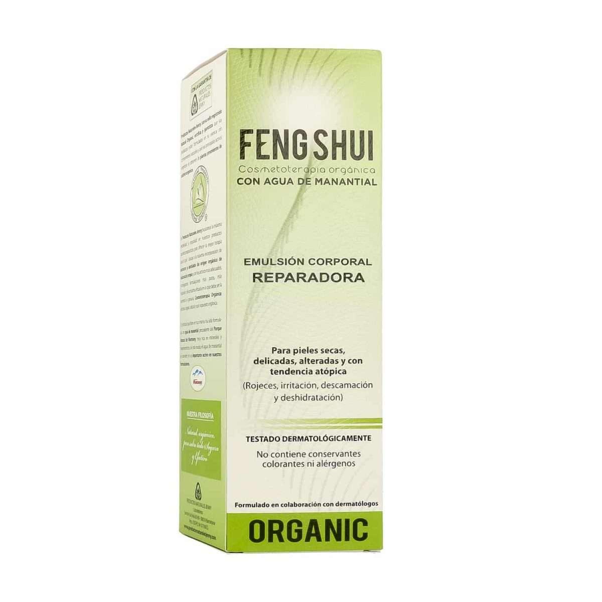 Emulsión Corporal Reparadora FENG SHUI 400 ml