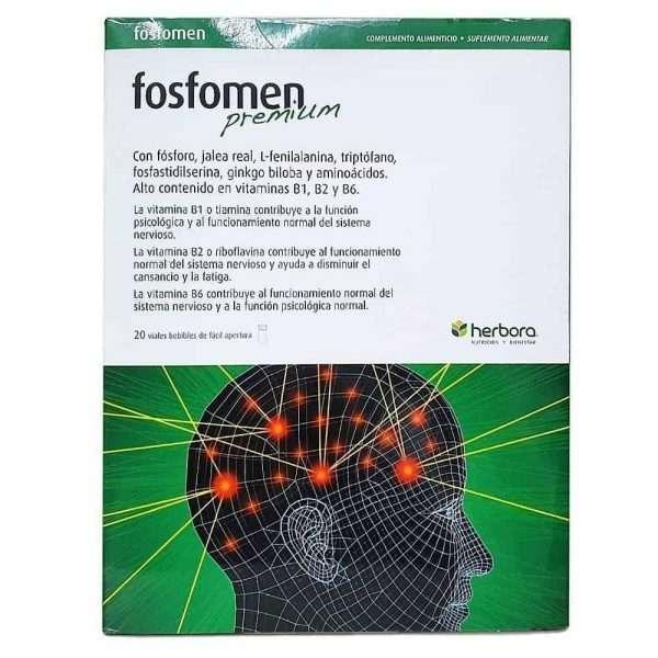 Fosfomen Premium Herbora 20 viales