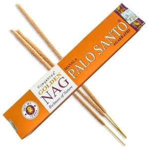 Golden Nag Palo Santo Masala Incienso 15g
