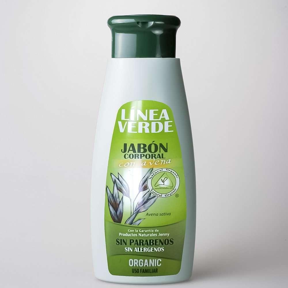 Jabón Corporal Avena Linea Verde 400 ml