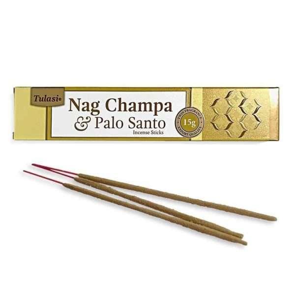 Tulasi Nag Champa Palo Santo Incienso Natural 15g