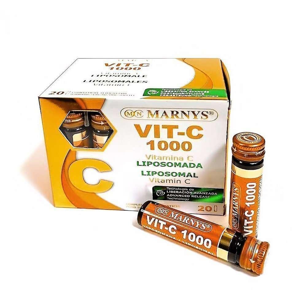 Vit-C 1000 Liposomada 20 viales MARNYS
