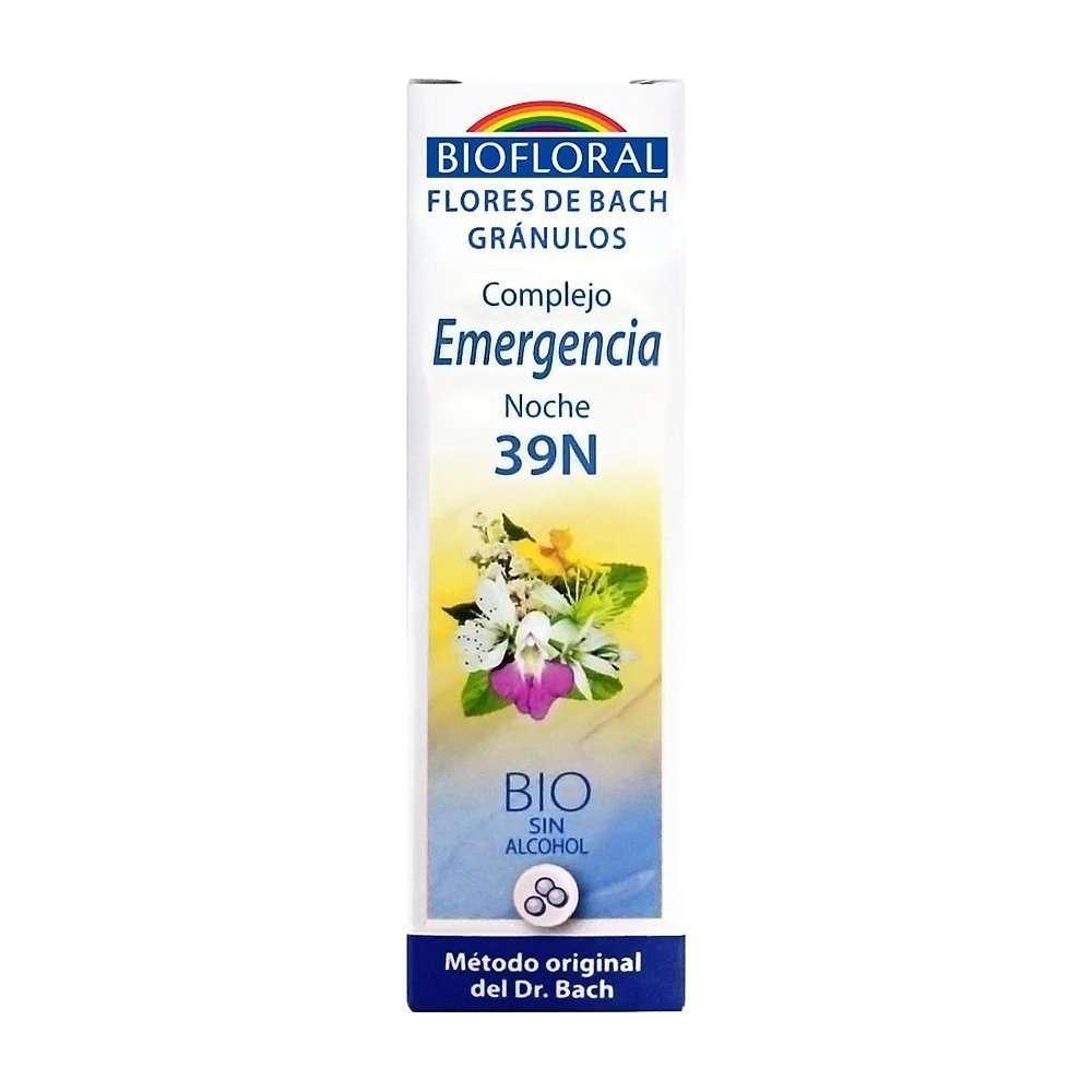 Flores De Bach Complejo Emergencia Noche 39N Biofloral 20 ml