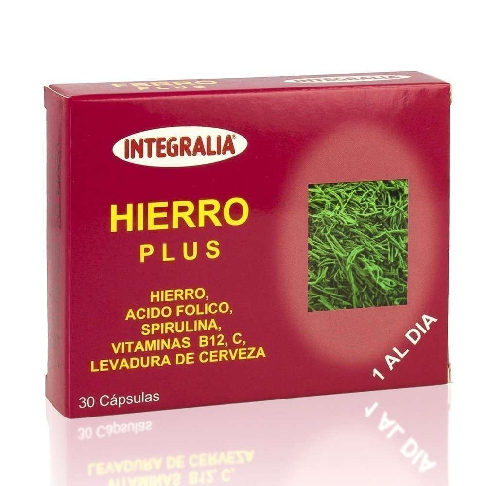 Hierro Plus Integralia 30 cápsulas