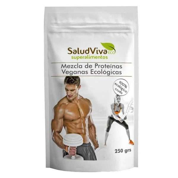 Mezcla de Proteinas Veganas ECO SaludViva