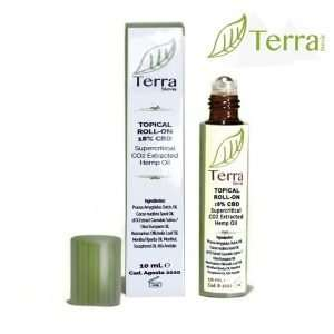 TerraStevia Roll-On CBD 18% 10 ml