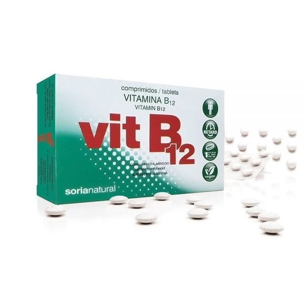 Vitamina B12 Retard Soria Natural 48 cápsulas
