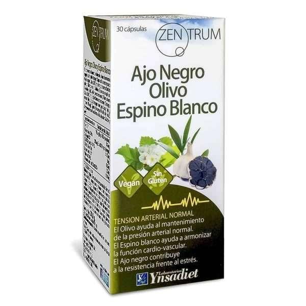 Ajo Negro Olivo Espino Blanco Zentrum