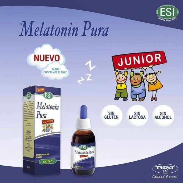 Melatonin Pura Junior Chocolate Blanco ESI 40 ml