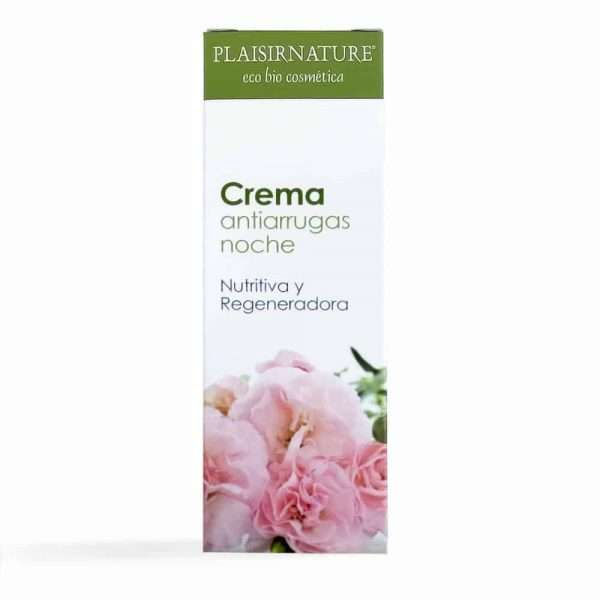 Plaisirnature Crema Antiarrugas Noche Eco-Bio Integralia 50 ml