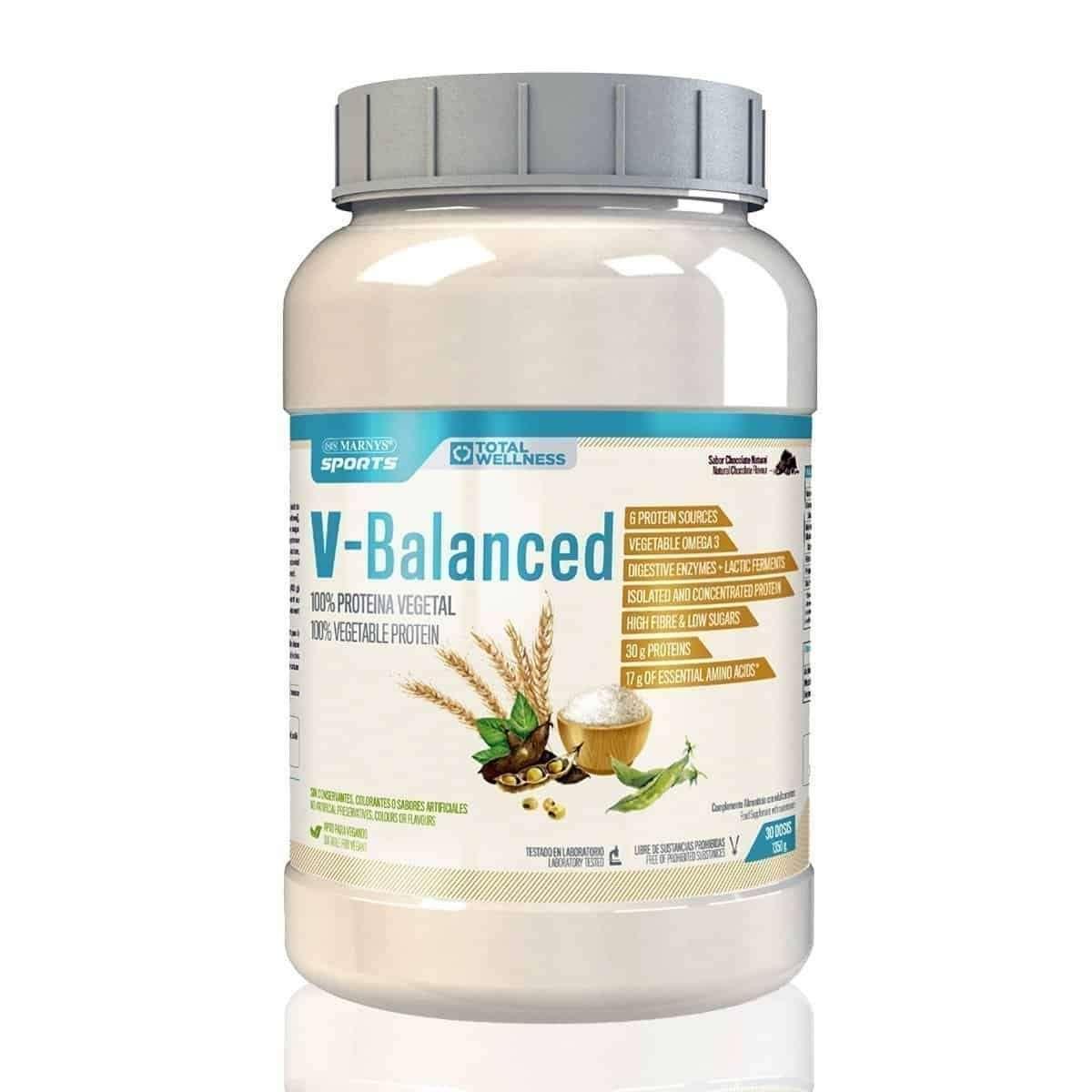 V Balanced Proteína Vegetal MARNYS SPORTS 150 g