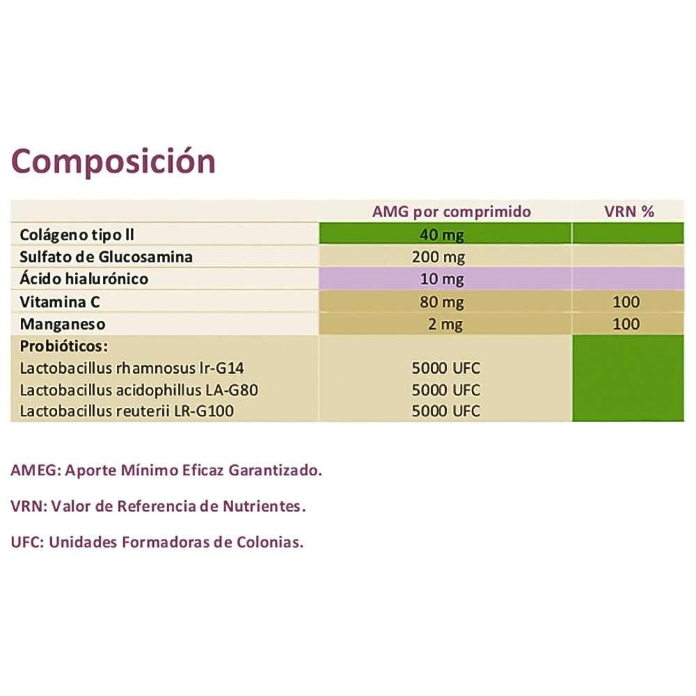 Vitalossea Colagenpro Derbós 30 cápsulas