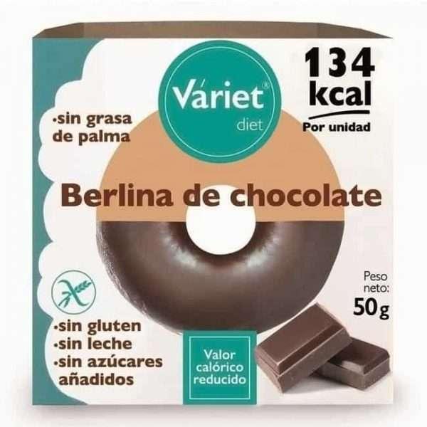 Berlina Sin Azucar Sin Gluten Chocolate Variet Diet 50gr