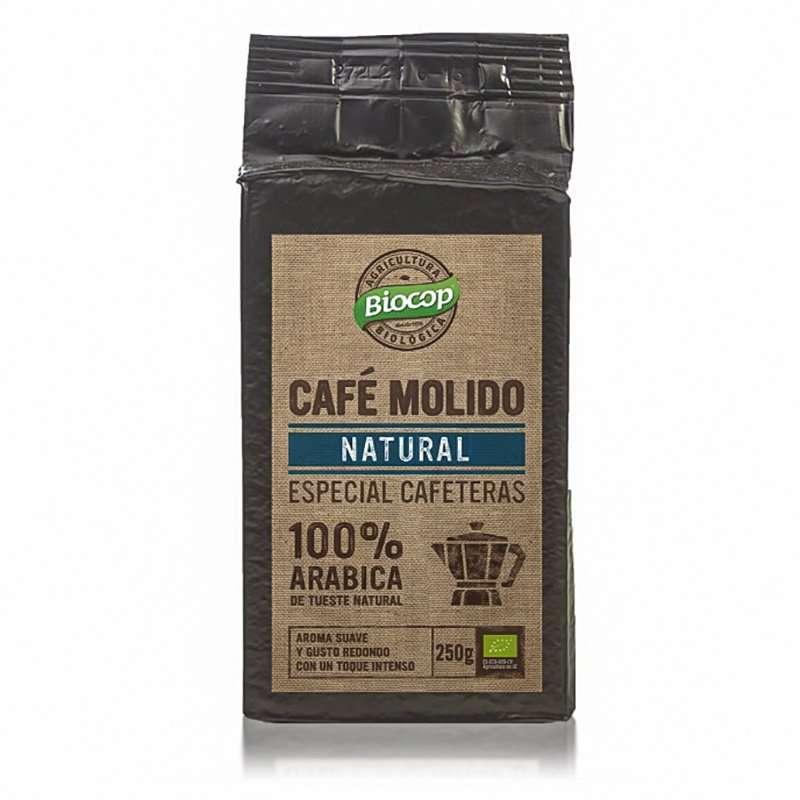 Café molido Arábica 100% Biocop 250gr