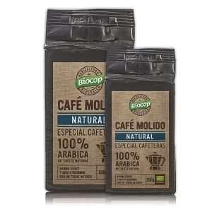 Café molido Arábica 100% Biocop