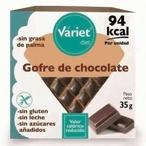 Gofre Sin Azucar Sin Gluten Chocolate Variet Diet 35gr