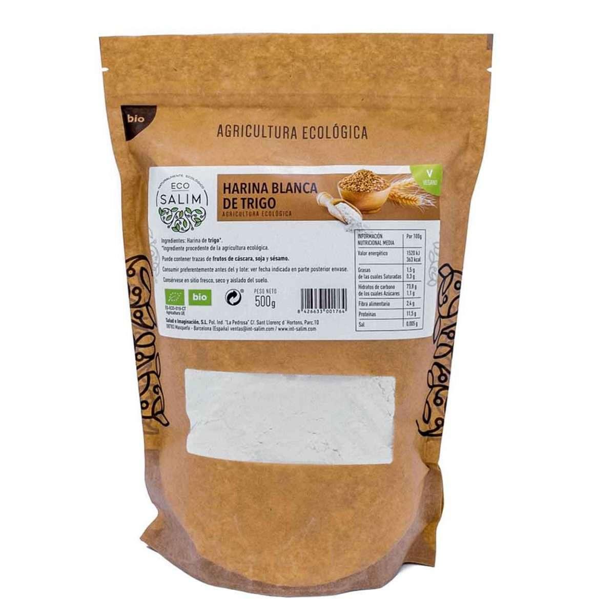 Harina blanca de trigo Ecológica Eco Salim 500gr