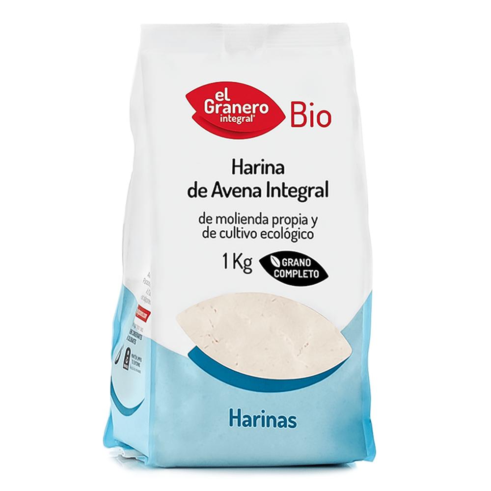 Harina de Avena Integral Bio El Granero 1 kg